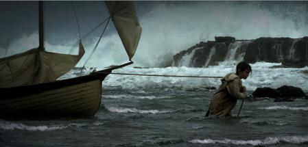 Max at sea